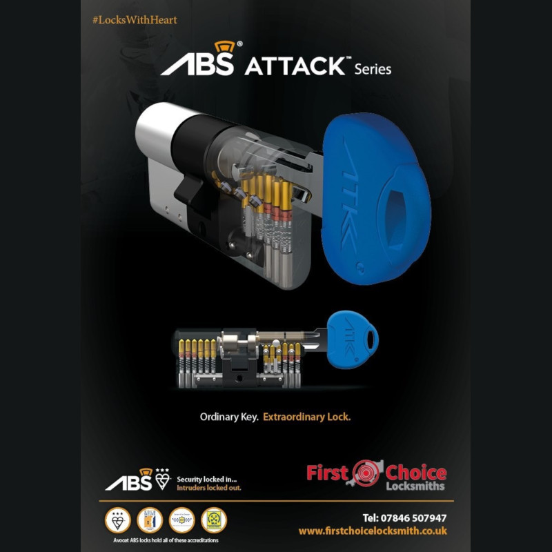 First Choice Locksmiths Exeter approved ABS - ATK lock installer
