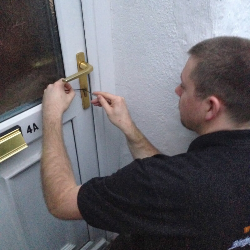 Locked out - lock picking by hand in Exeter