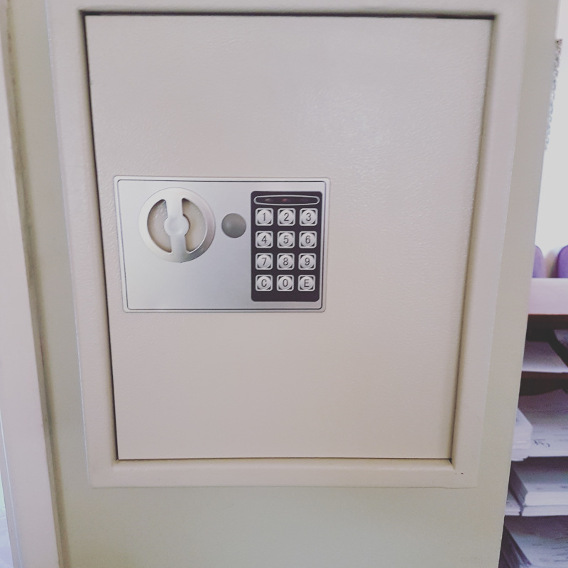Digital safe supplied and fitted in Exeter