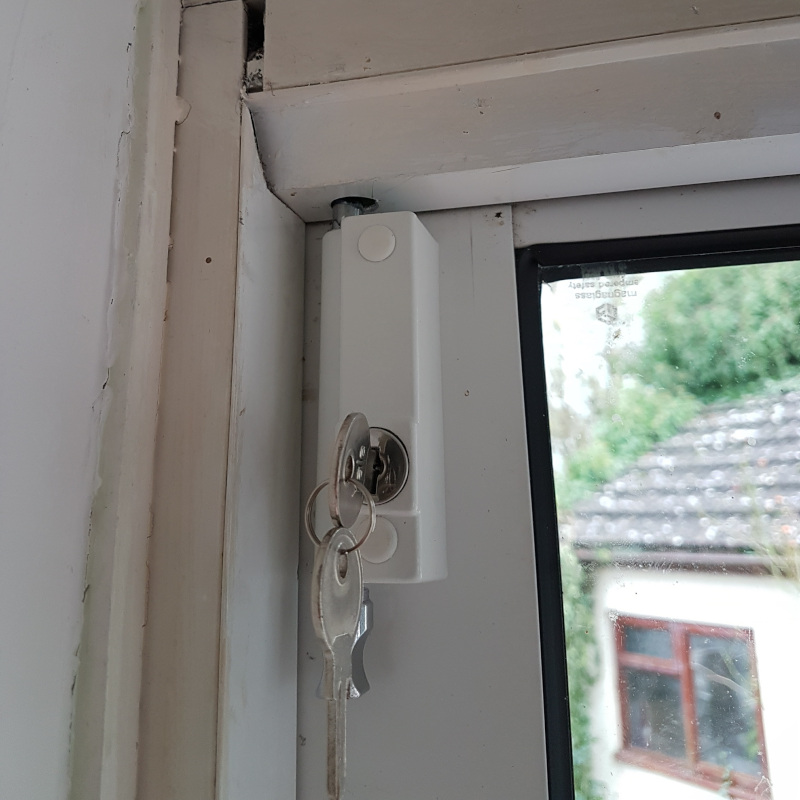 Heavy duty door bolts fitted by First Choice Locksmiths, Exeter