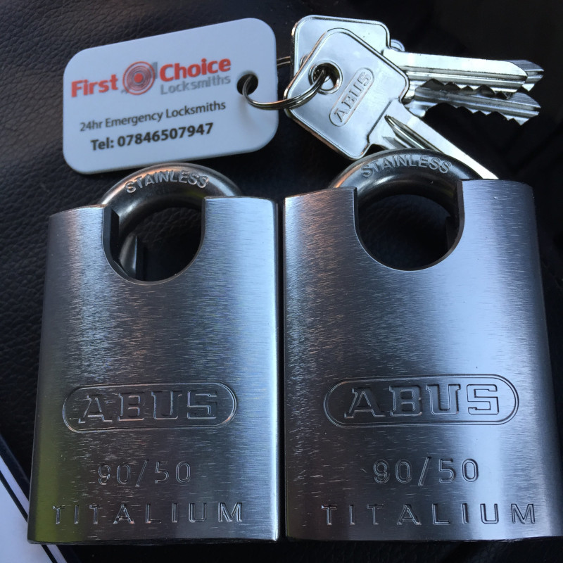 High security padlocks supplied by First Choice Locksmiths Exeter