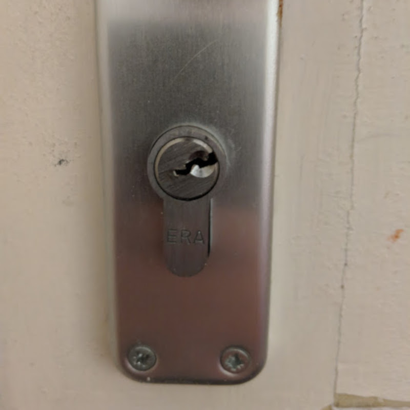 Door lock picked by First Choice Locksmiths Exeter