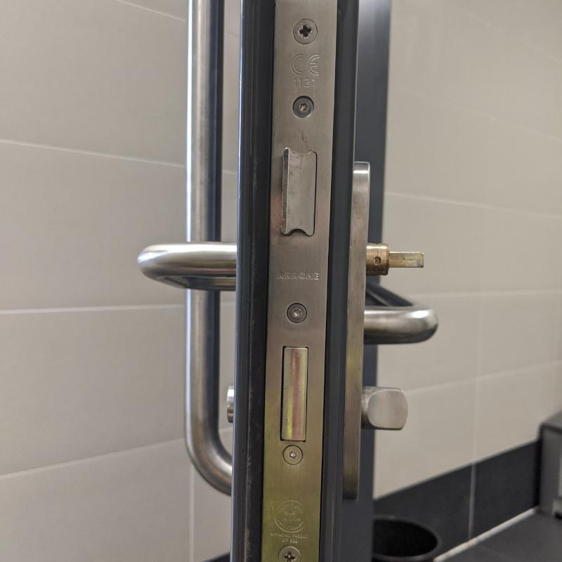 Supermarket door locks - Exeter